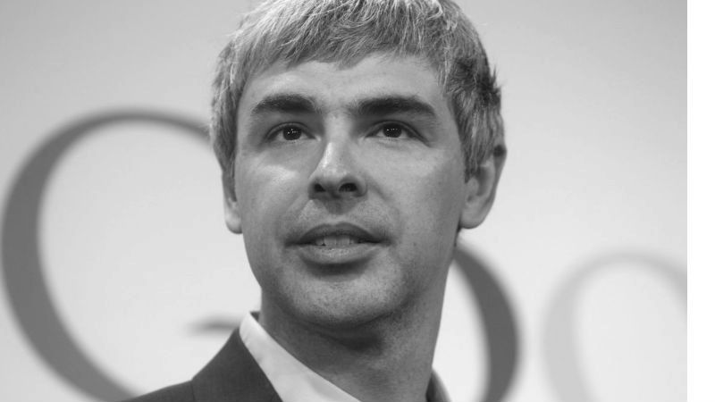Presentation inspiration from Larry Page